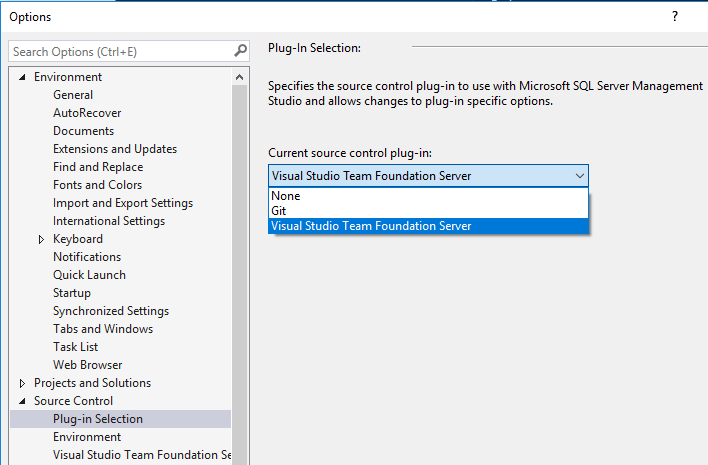 ssms source control plugin