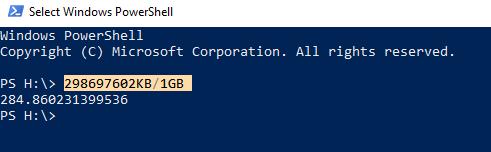 PowerShellCalc
